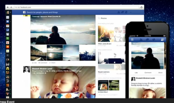 Facebook vibrant newsfeed changes